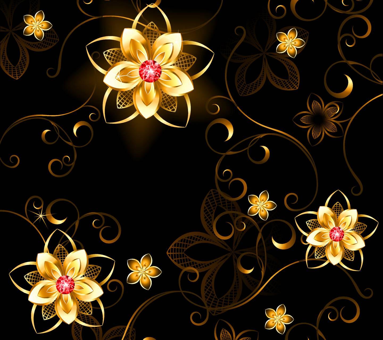 Golden Flowers Wallpaper by ____S - 7b - Free on ZEDGE™