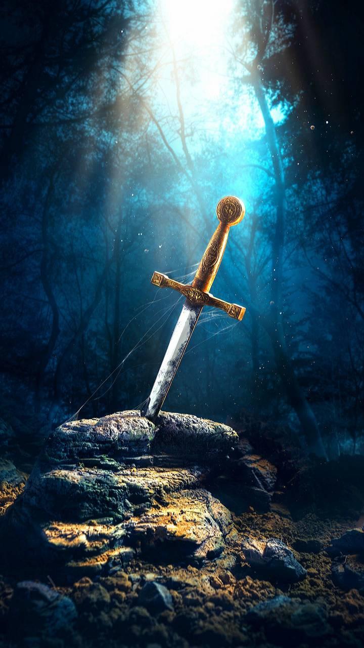 Magical sword