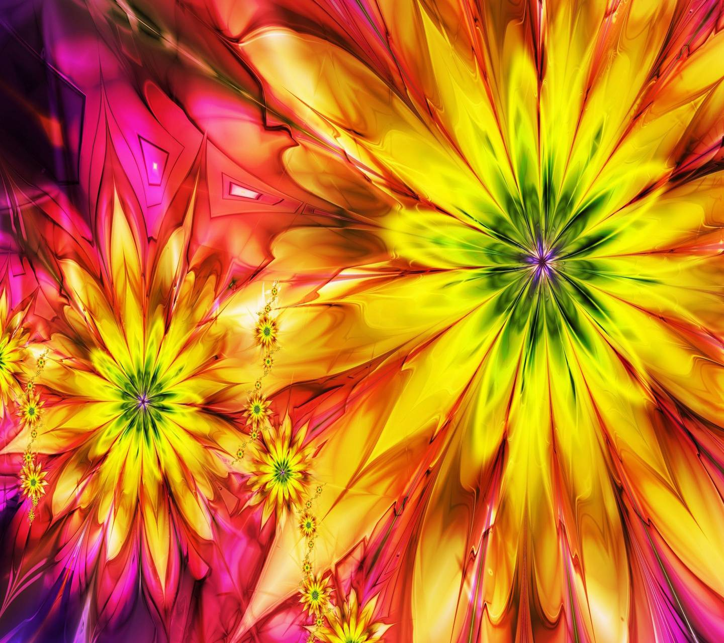 Floral Sunflowers