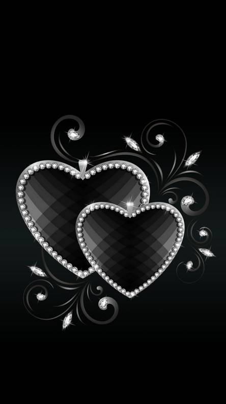 Black Heart Wallpapers Free By Zedge
