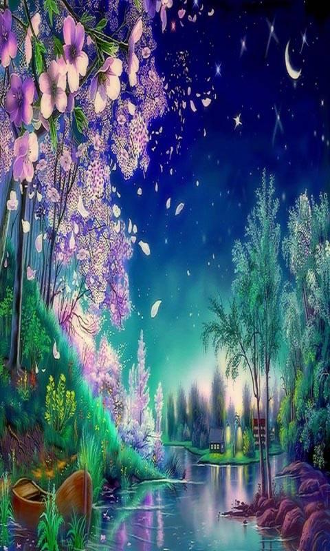 Blooming Night