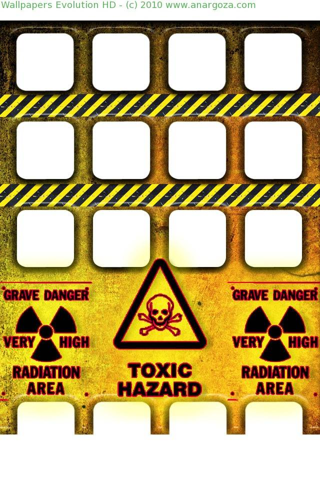 Toxic Hazard Shelf