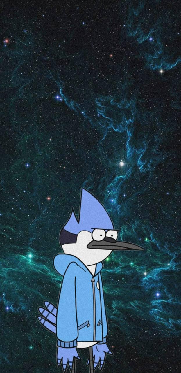 Mordecai sad