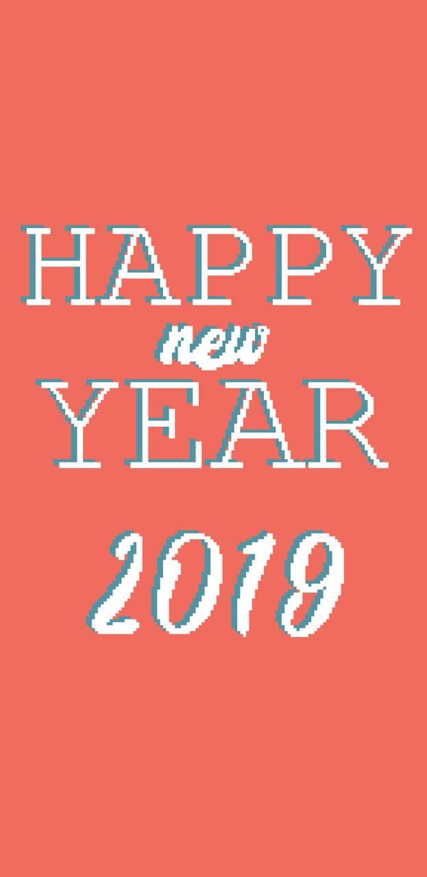 New Year 2019 Pixel