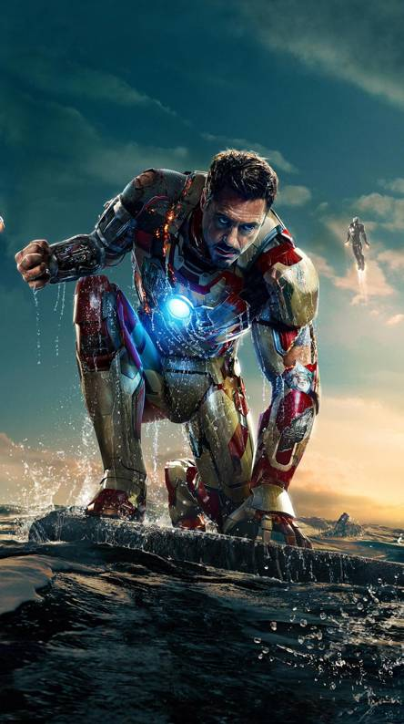 Iron Man Cartoon Wallpapers Free By Zedge