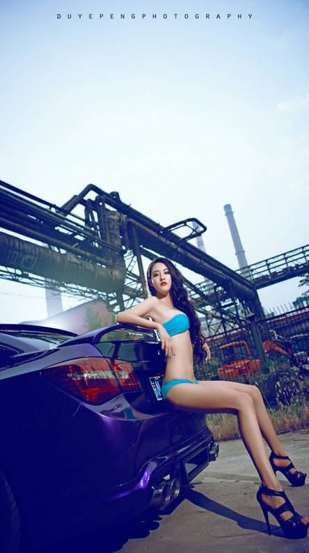 Car with Girl