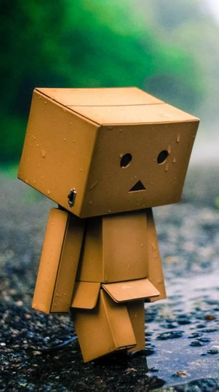Sad amazon box