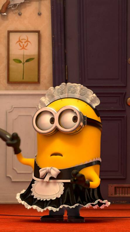 Minion Maid Funny