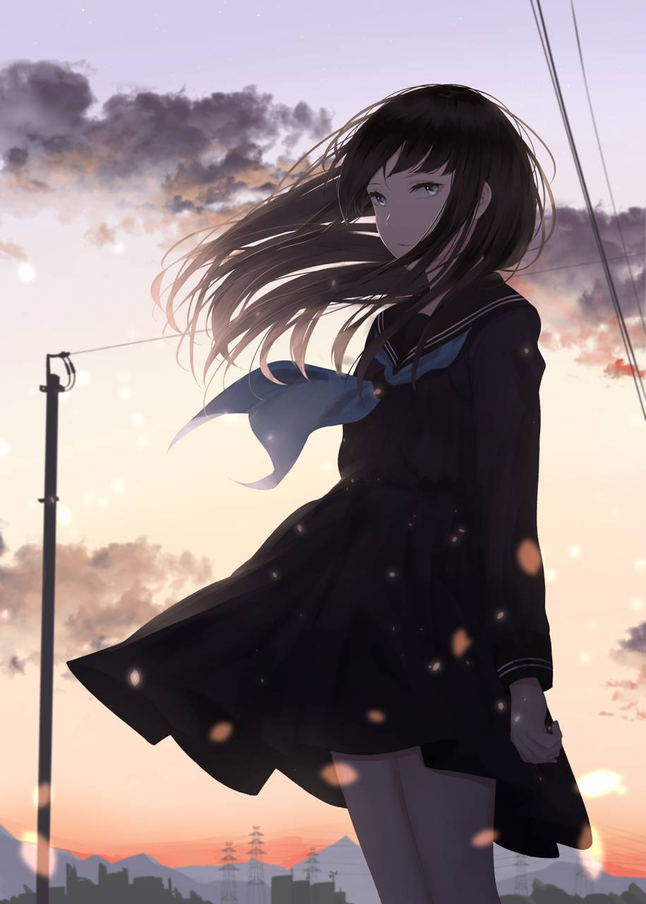 Sad Anime Girl Wallpaper By Creepyloli De Free On Zedge