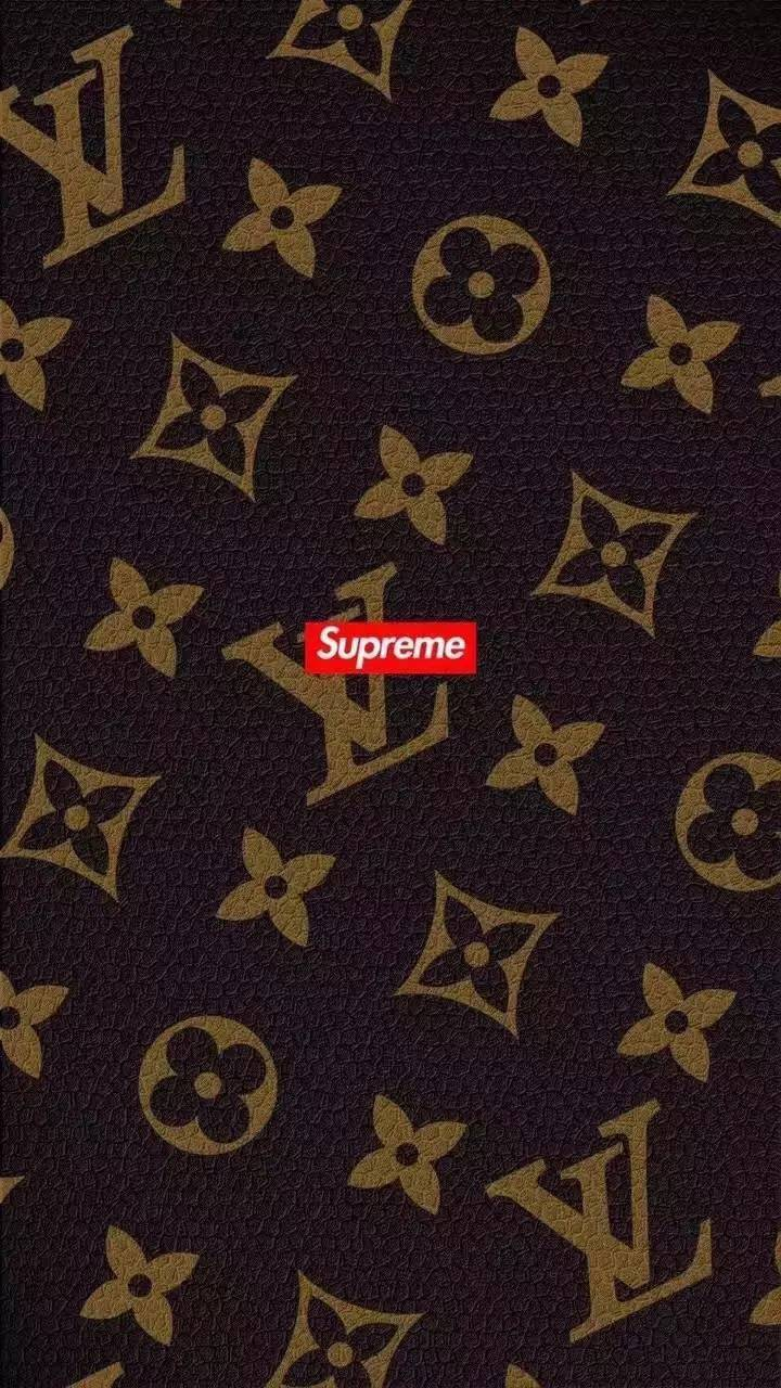 Supreme X LV Wallpaper By Trill_OG - 4a - Free On ZEDGE™