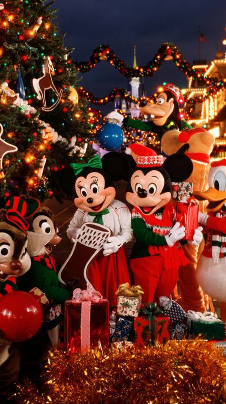 Disney Christmas Wallpapers Free By Zedge