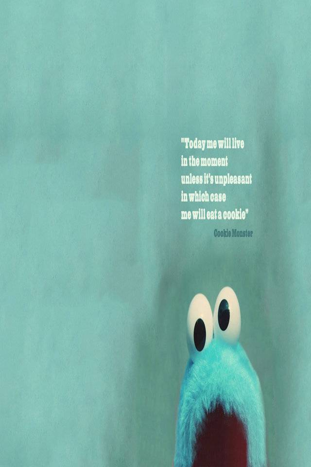 Cookie Monster Quote Wallpaper By Im Genesis 95 Free On Zedge