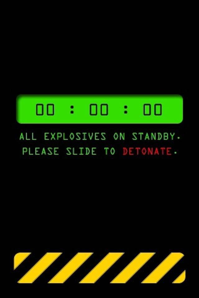 Slide To Detonate