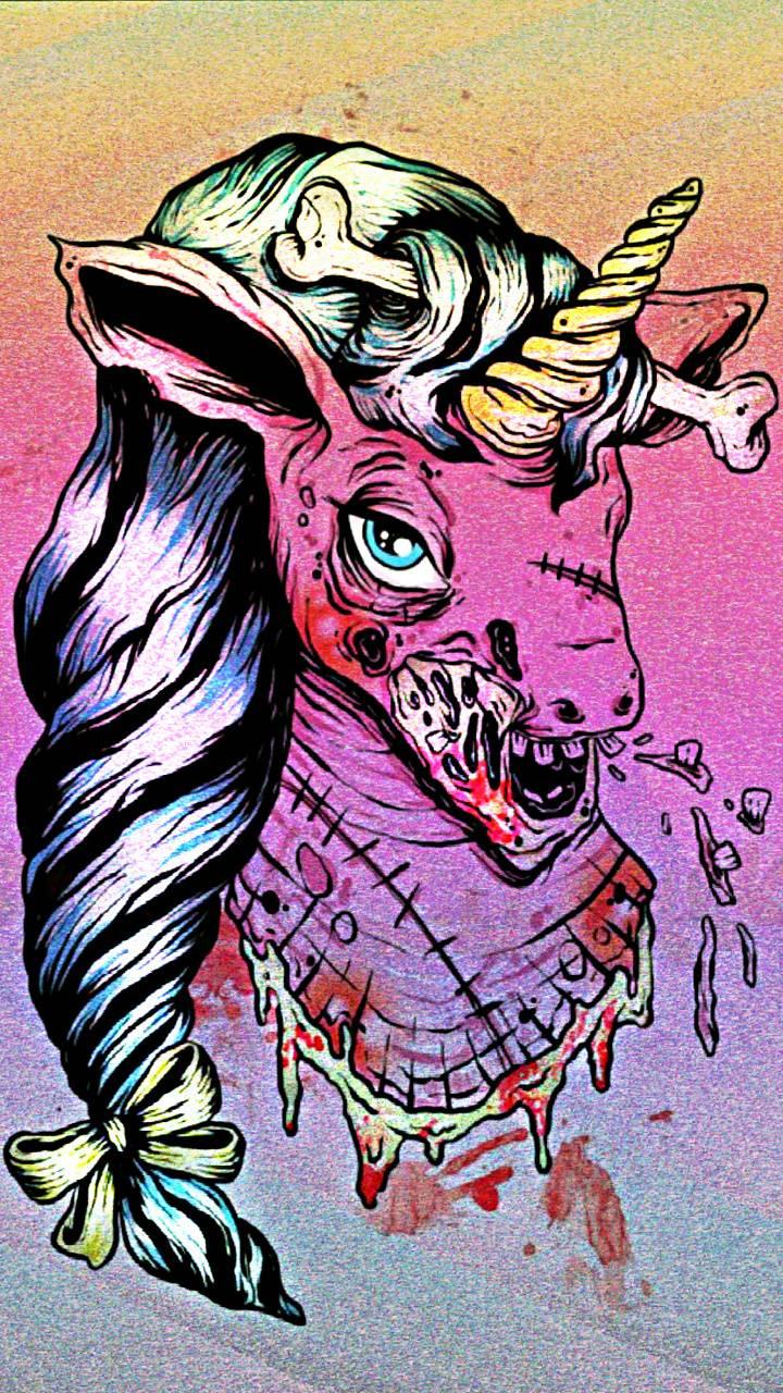 Zombie Glitz Unicorn