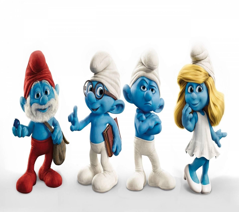 Disney Smurf