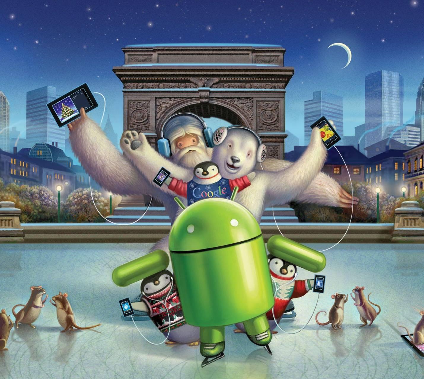 Новогодние Обои На Телефон Андроид 2020