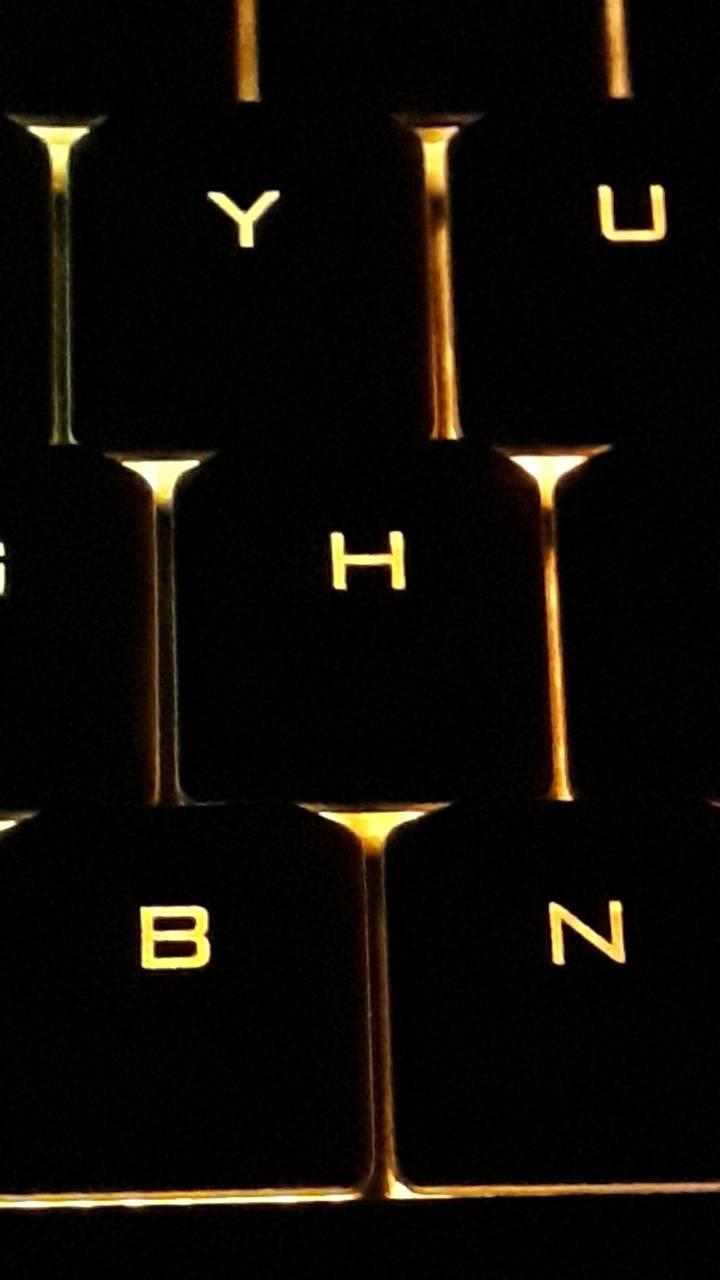 Renkli klavye