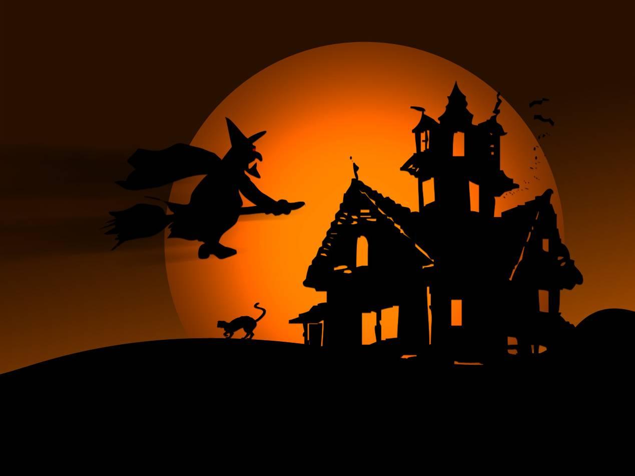 halloween wall