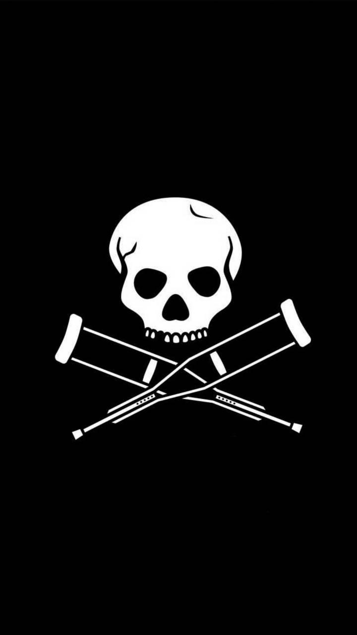Skull and Crutches