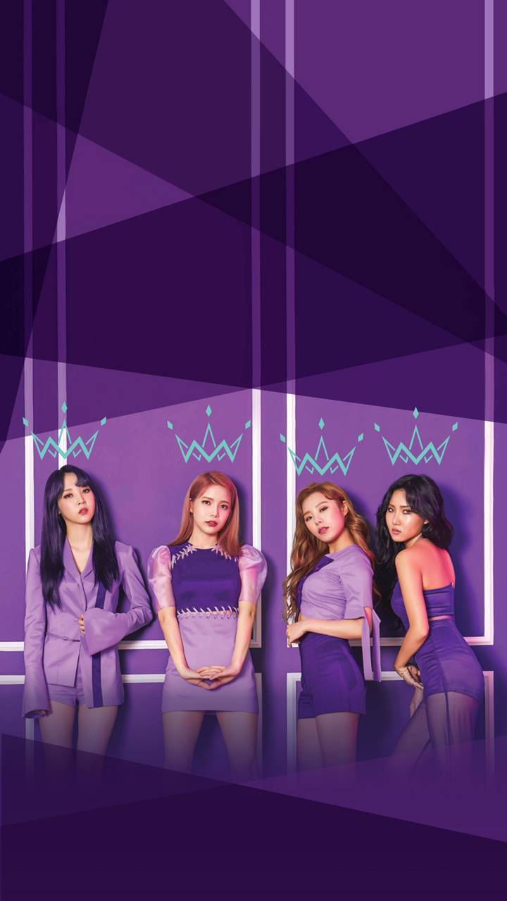 MAMAMOO purple