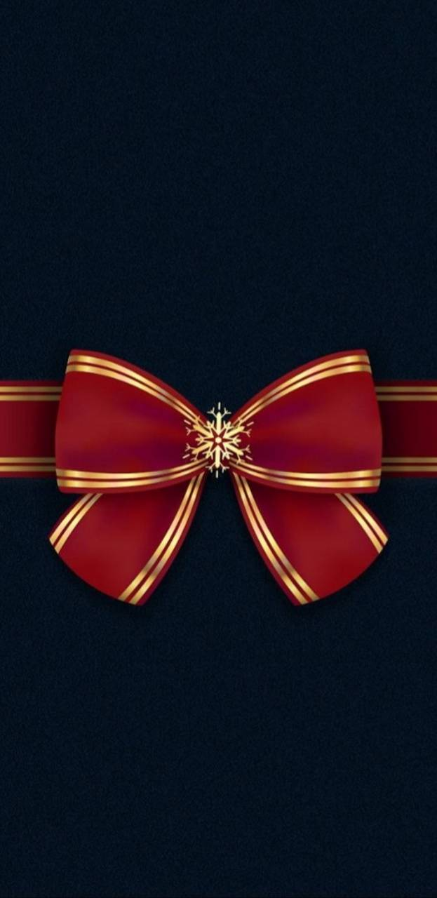 Red N Gold Bow