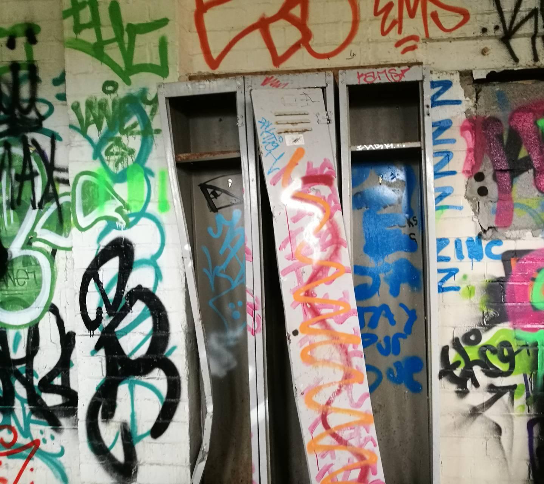 Abandoned lockers