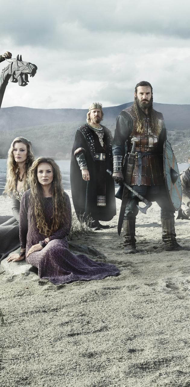 Vikings beach