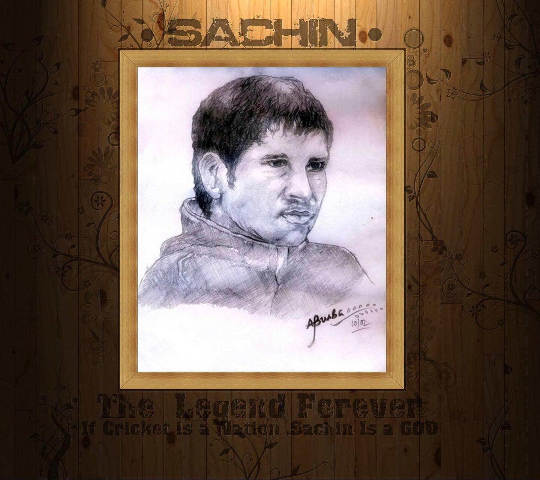 Sachin Sketch Hd