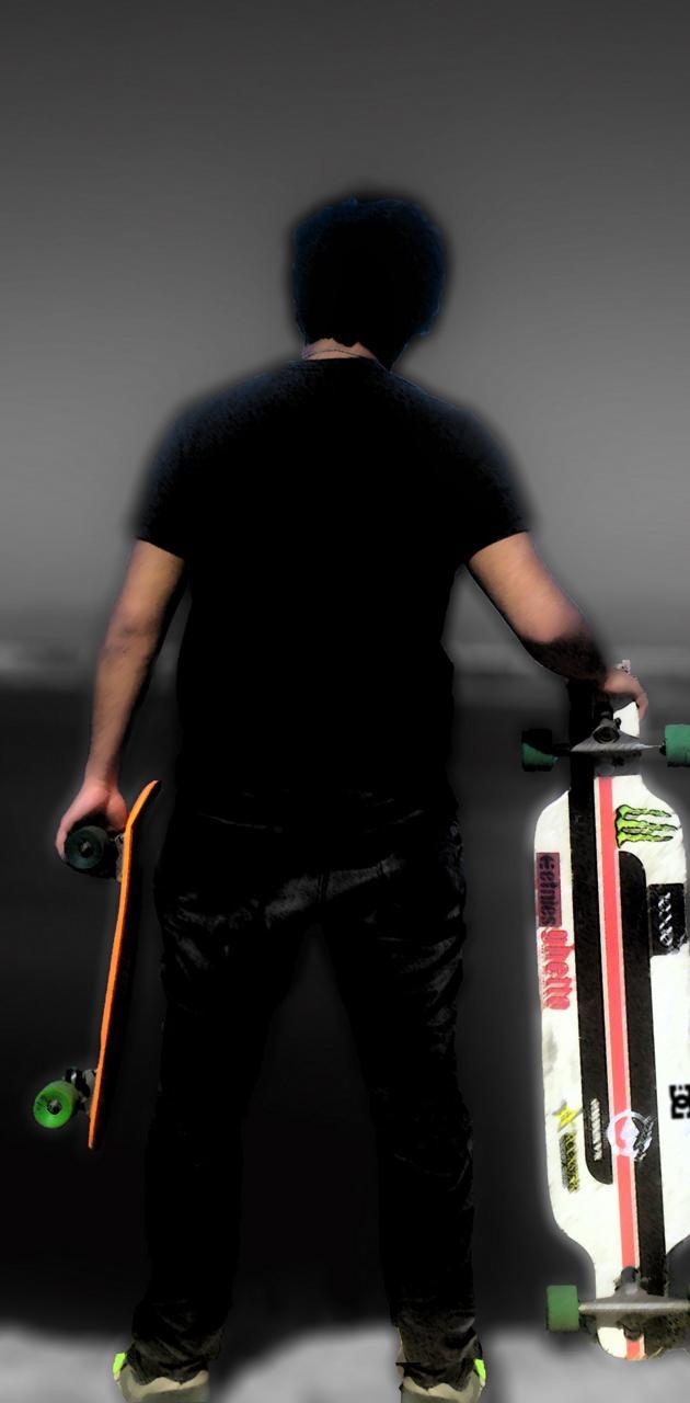 boy longboard penny