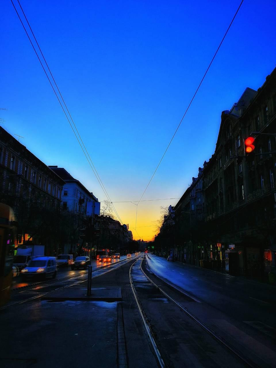 Street blue