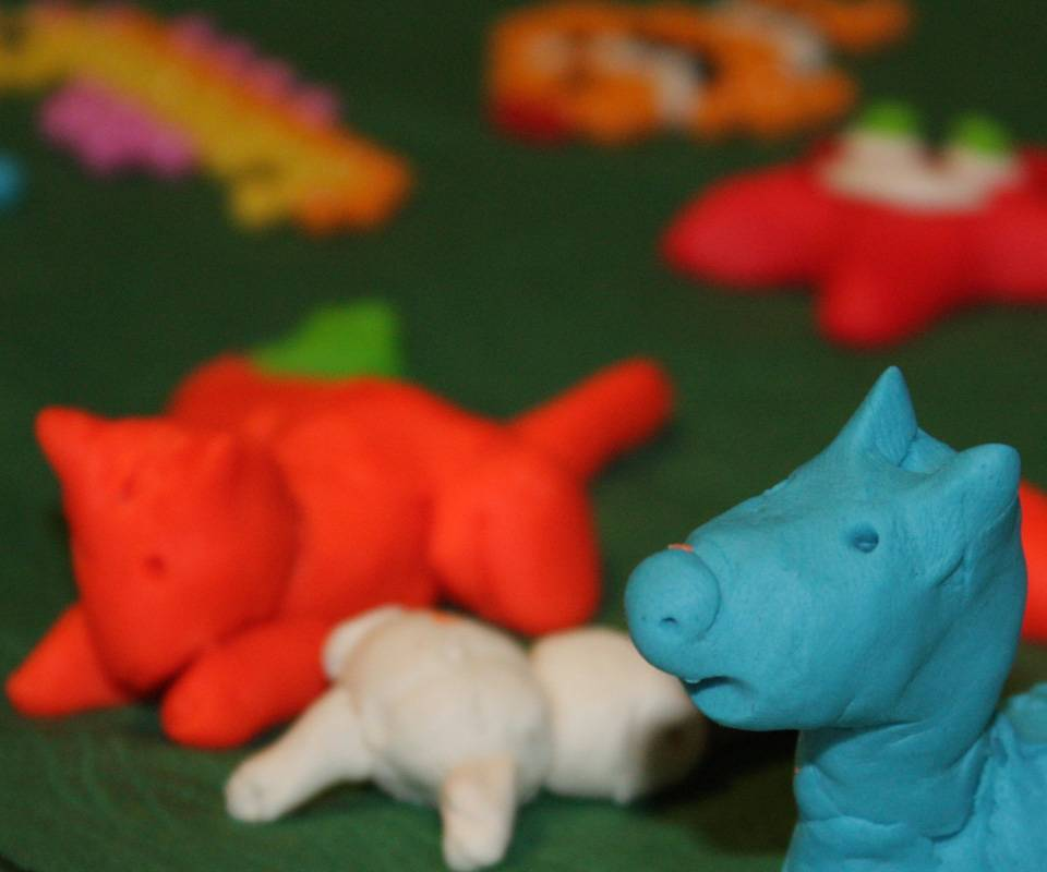 Play-doh Animal Farm
