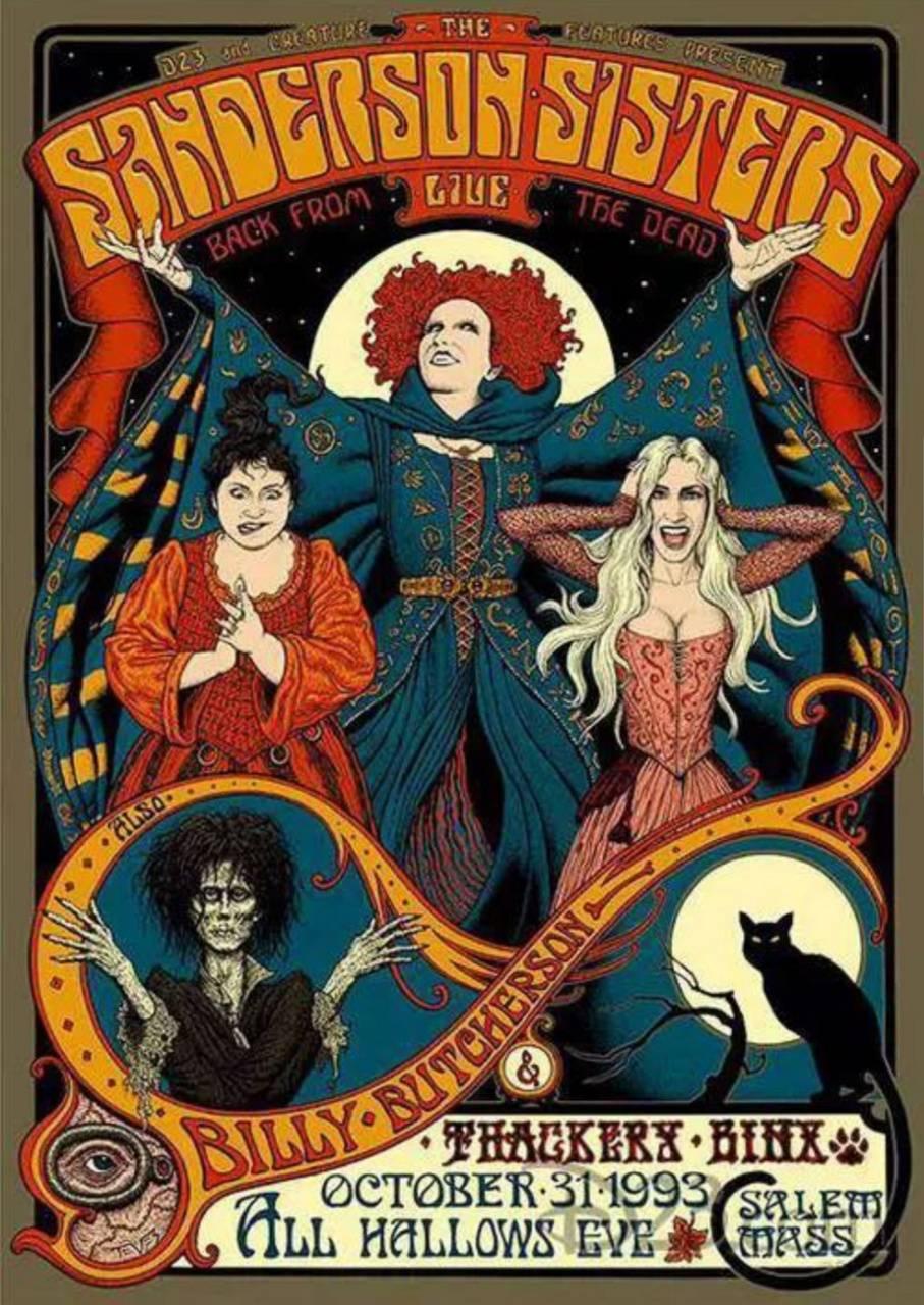 Hocus pocus wallpaper by Sammisamz420 - d7 - Free on ZEDGE™
