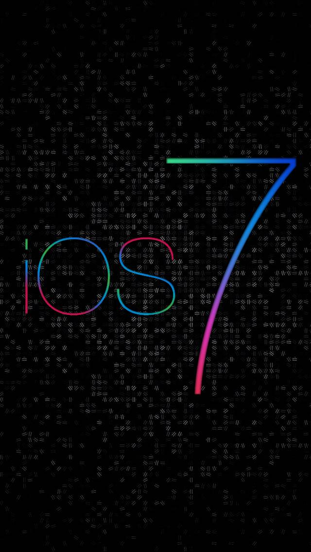 Ios 7 Black Dots Hd