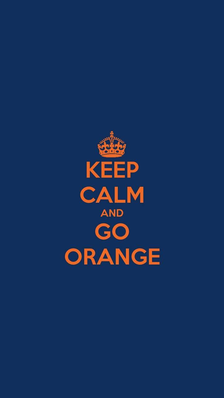 Keep Calm Go Orange