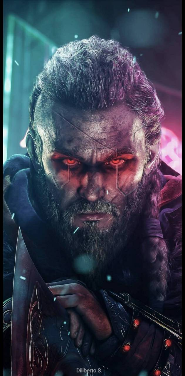 Cyberpunk Vikings