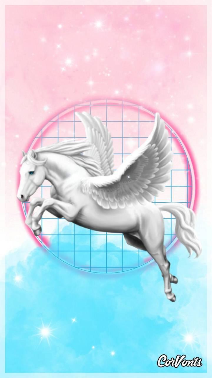 Cotton candy Pegasus