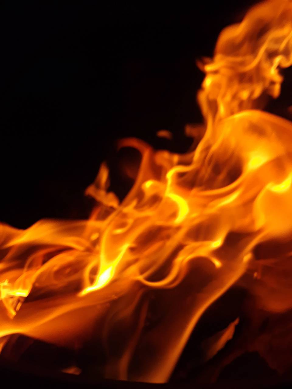 Flame stream