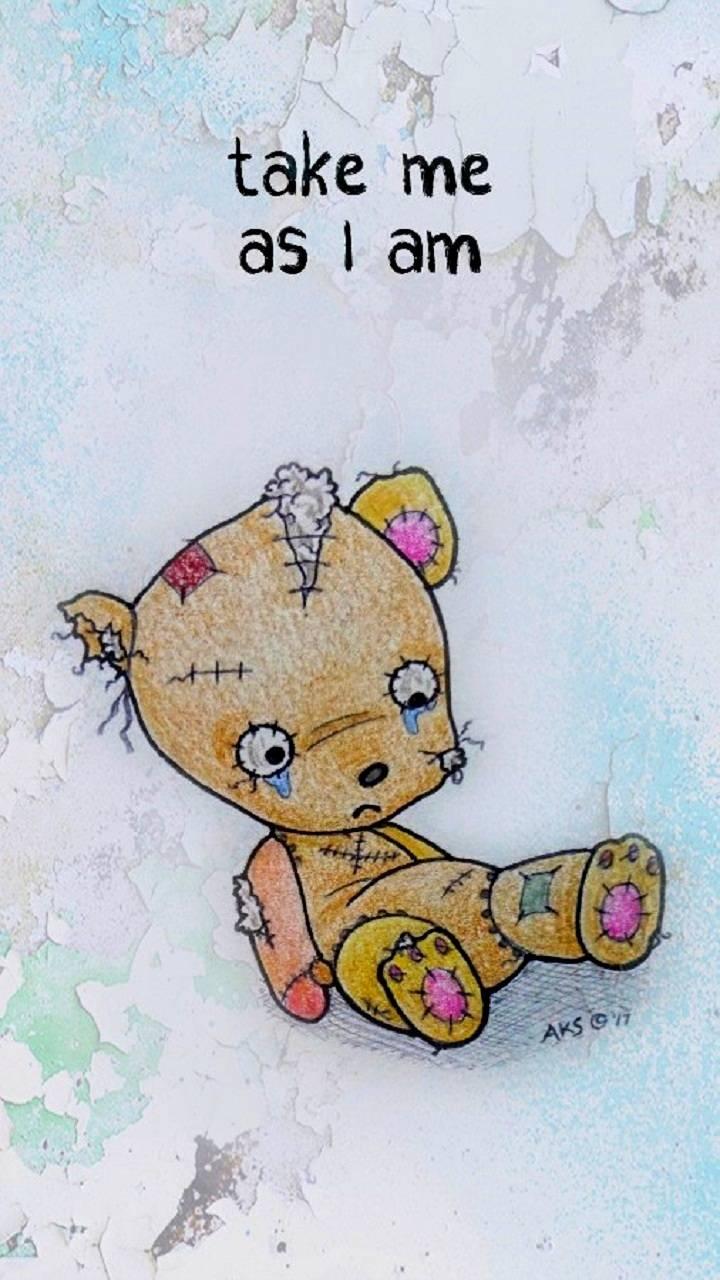 Strange Bear Doll