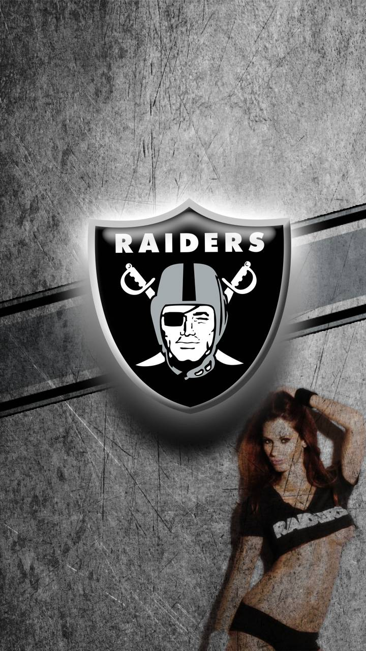 Oakland raiders girl wallpaper by jansingjames h5nblab64m4l2 oakland raiders girl voltagebd Image collections