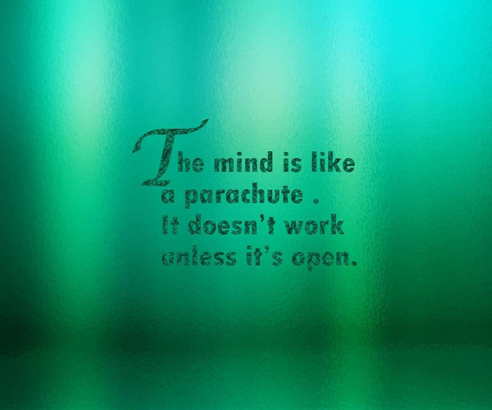 The Mind Is