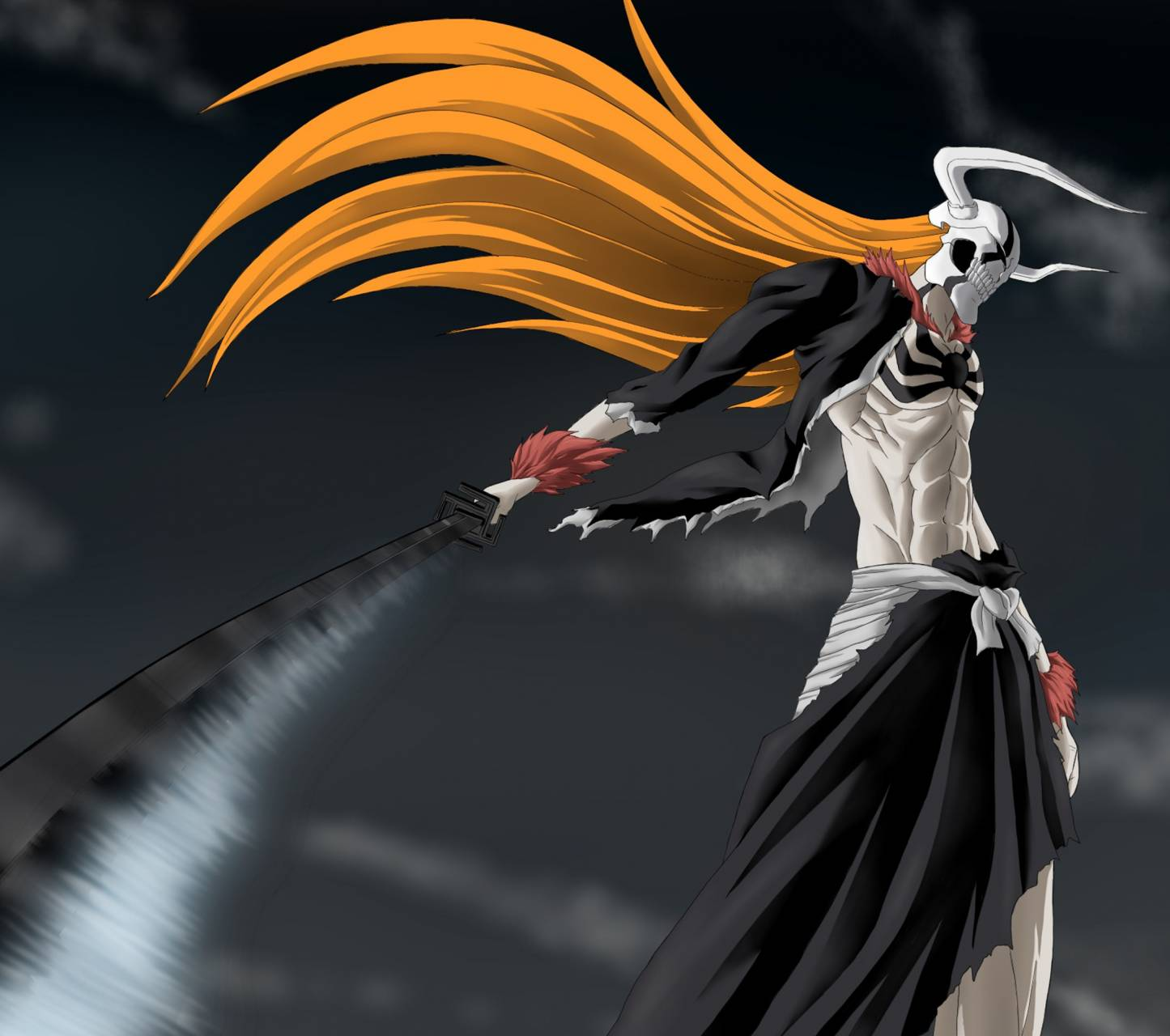 Zedge Wallpapers Ichigo: Vasto Lorde Ichigo 2 Wallpaper By LaMistoYT