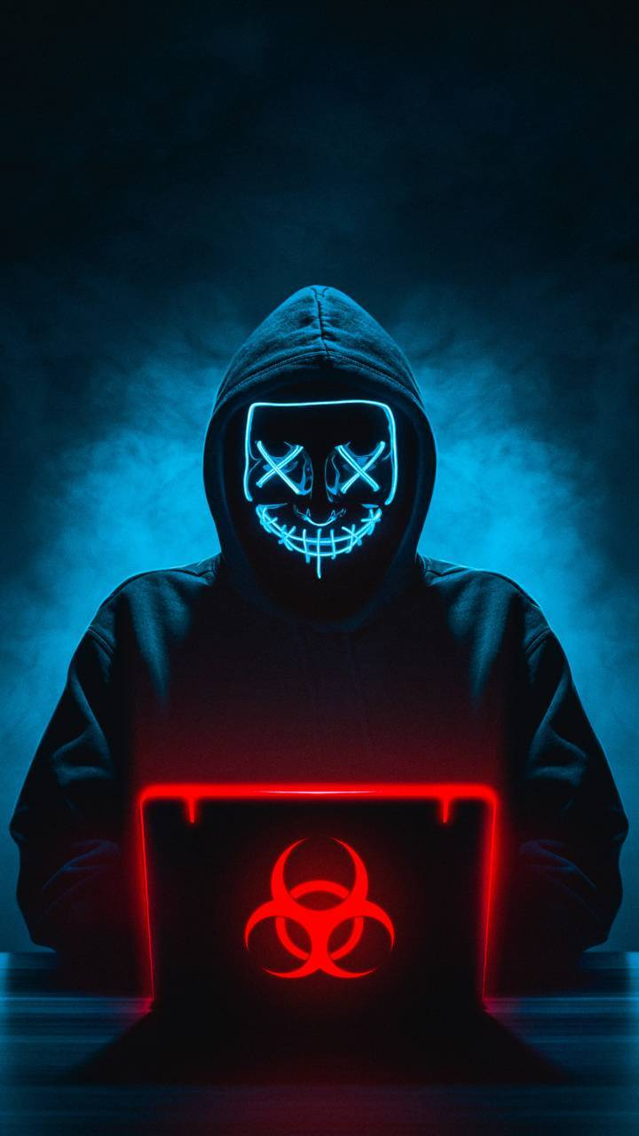 Neon Mask Hacker Wallpaper By Shubhamgole80 68 Free On Zedge