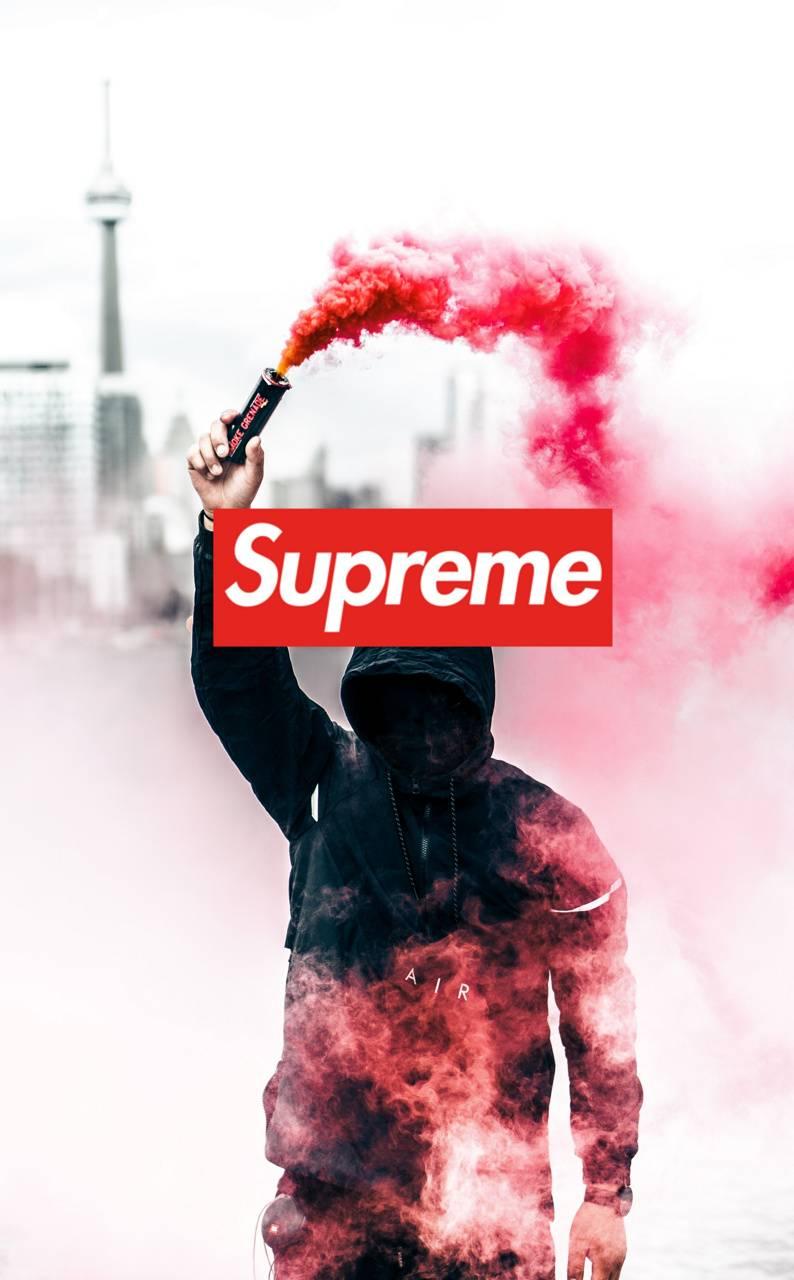 Supreme spray paint