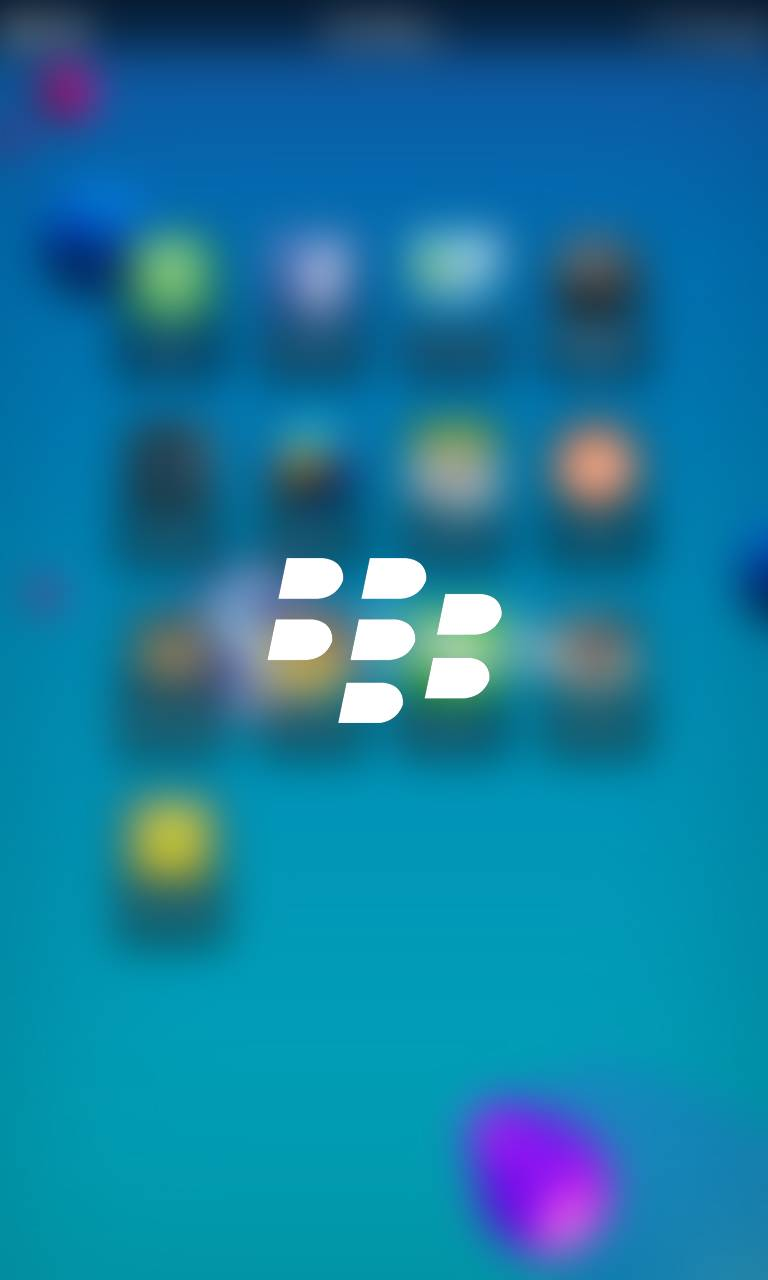 BlackBerry Blurred