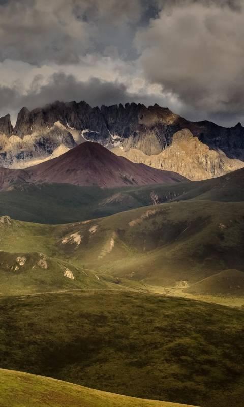 mountains nature