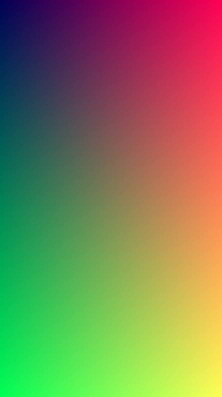 Colours gradient