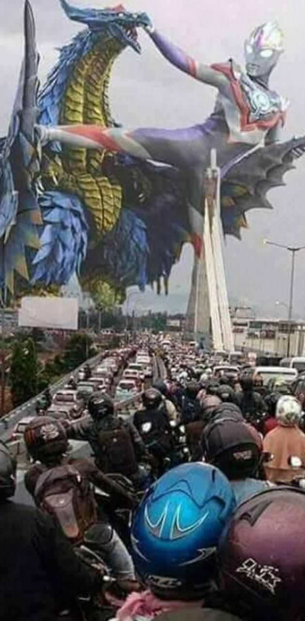 Ultraman In Bandung