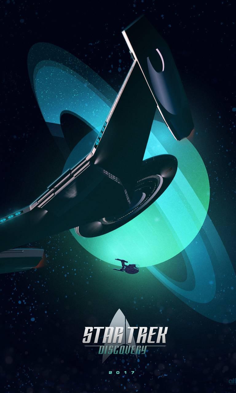 Star Trek Discovery Wallpaper By Demolidorx E2 Free On