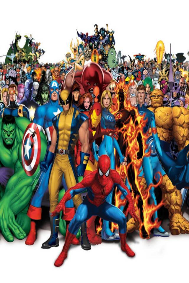 Superheroes I4