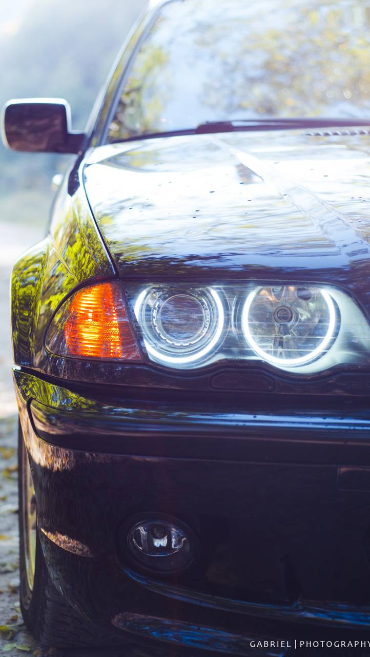 BMW E46 320d XENON
